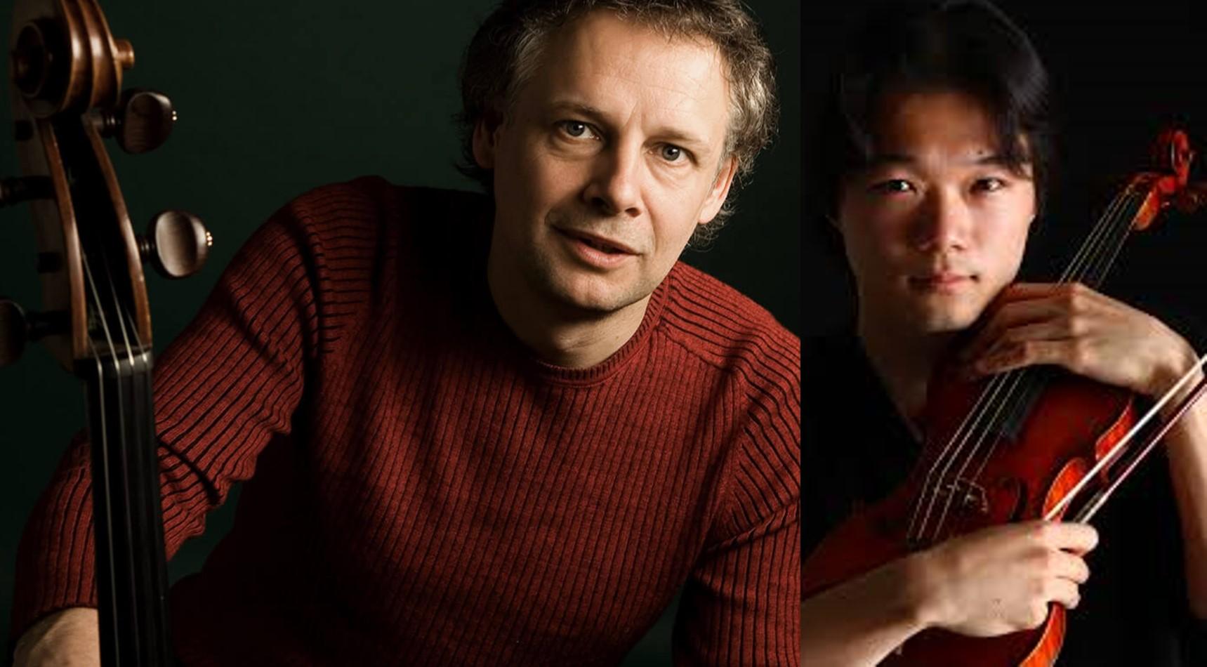 Pieter Wispelweij en Shunske Sato Stadsgehoorzaal Leiden september 2020